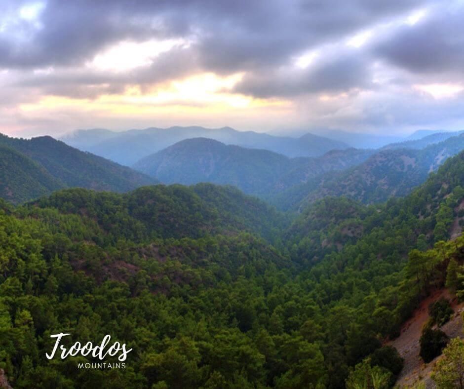 troodos mountains